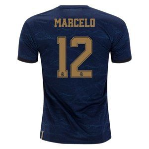 MARCELO 12 Real Madrid Away Soccer Jersey 2019/20